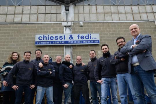 Chiessi & Fedi - Lo staff del Magazzino Osmannoro