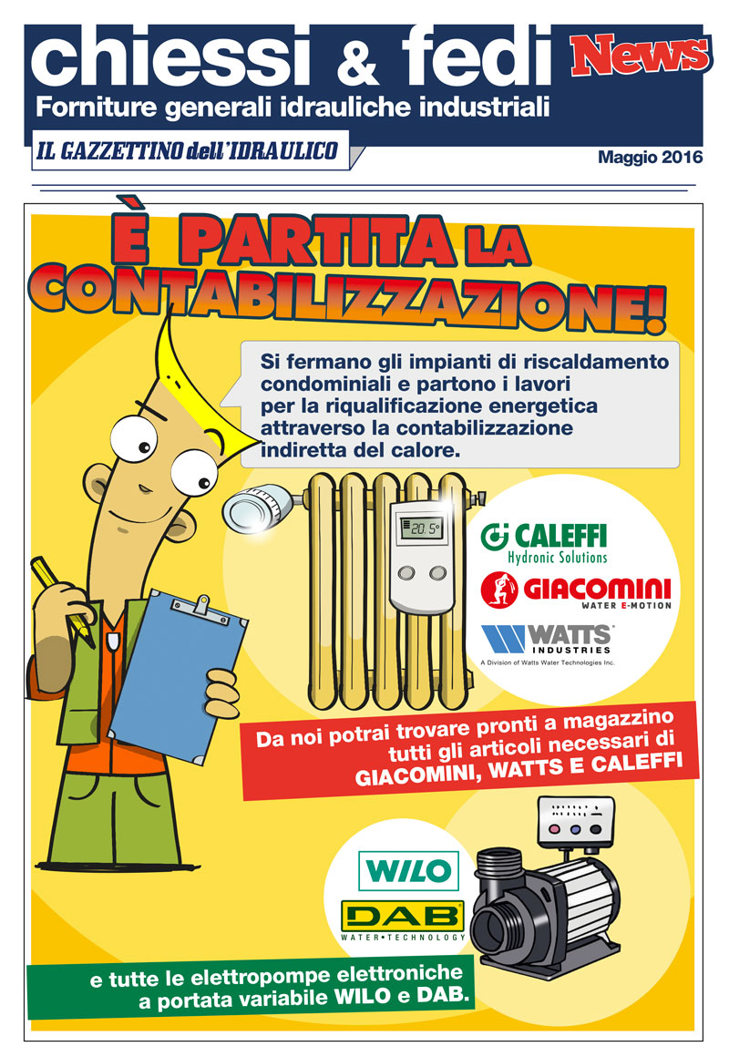 Il Gazzettino dell'idraulico - Maggio 2016